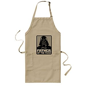 Darth Vader Father of the Year Barbecue Apron - Star Wars - Customizable