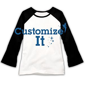 Customized D23 Ladies Double-Sided Raglan Tee