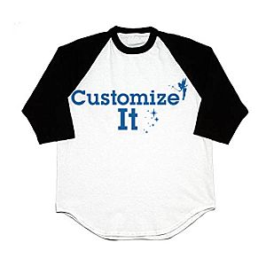 Customized D23 Single-Sided Raglan Tee for Men