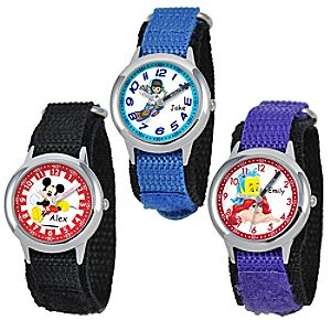 Customized Time Teacher Watch with Nylon Strap for Kids