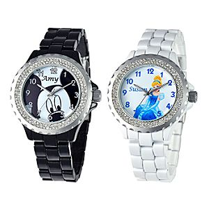 Customized Rhinestone Watch for Women