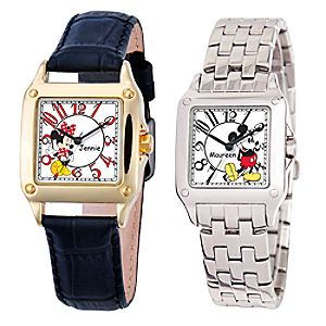 Customized Square Disney Watch for Women