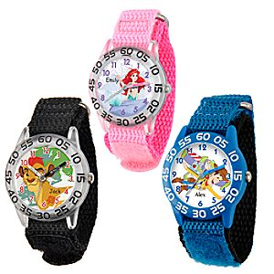 Time Teacher Watch with Nylon Strap for Kids - Customizable