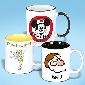 Customized D23 Ringer Mug - 11 oz.