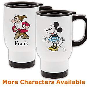 Customized D23 Travel Mug