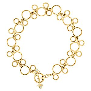 Mickey Mouse Icon Bracelet - 14K