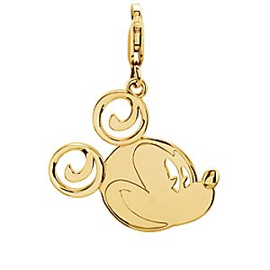 Mickey Mouse Charm - 14K