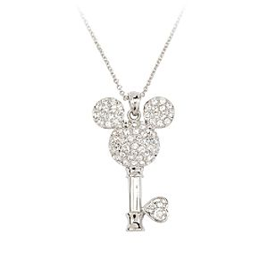 Mickey Mouse Key Necklace by Arribas