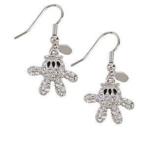 Mickey Mouse Glove Earrings by Arribas