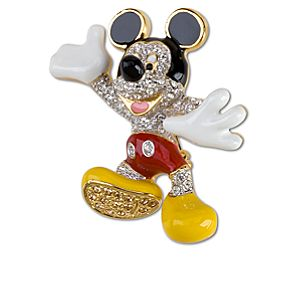 Mickey Mouse Brooch by Arribas