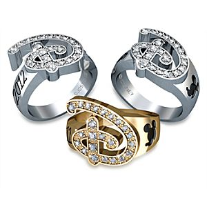 Disney Diamond Ring for Women by Jostens - Personalizable