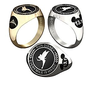 Tinker Bell RunDisney Ring for Women by Jostens - Personalizable