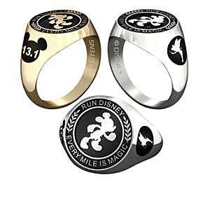 Mickey Mouse RunDisney Ring for Men by Jostens - Personalizable