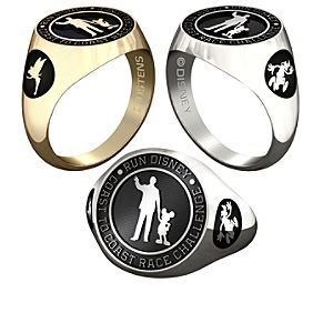 Mickey Mouse and Walt Disney with RunDisney Ring for Women by Jostens - Personalizable