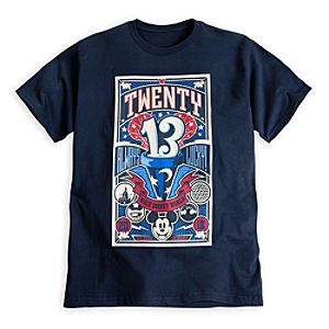 Mickey Mouse Always Lucky Tee for Adults - Walt Disney World