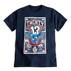 Mickey Mouse Always Lucky Tee for Adults - Disneyland