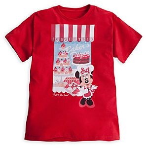 Minnie Mouse Bakers Dozen Tee for Adults - Disneyland
