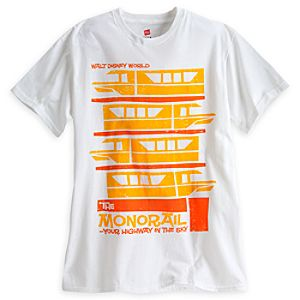 Monorail Tee for Adults - Walt Disney World - Limited Availability