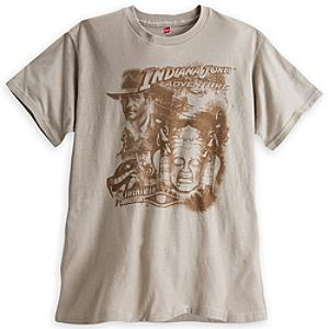 Indiana Jones Adventure Tee for Adults - 20th Anniversary - Disneyland - Limited Availability