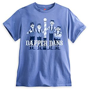 Dapper Dans Tee for Adults - Disneyland - Limited Availability