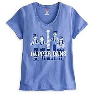 Dapper Dans Tee for Women - Disneyland - Limited Availability