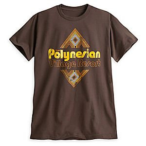 Disneys Polynesian Village Resort Tee for Adults - Walt Disney World - Limited Availability