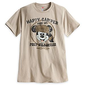 Mickey Mouse Fort Wilderness Tee for Adults - Walt Disney World - Limited Availability