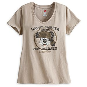 Mickey Mouse Fort Wilderness Tee for Women - Walt Disney World - Limited Availability