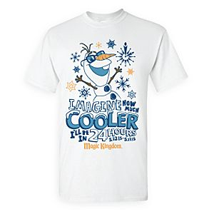 Olaf 24 Hour Party Tee for Adults - Walt Disney World - Annual Passholder Premiere