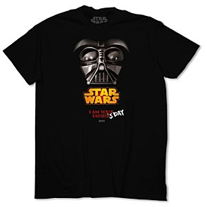 Darth Vader ''I Am Your Father's Day'' Tee for Adults - Limited Availability
