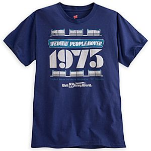 PeopleMover 40th Anniversary Tee for Adults - Walt Disney World - Limited Availability