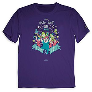Tinker Bell 5K I Did It! Tee for Adults - Limited Availability