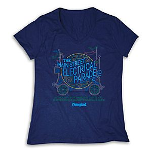 The Main Street Electrical Parade Tee for Women - Limited Availability