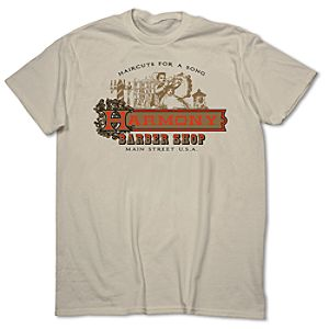 Harmony Barber Shop Tee for Adults - Walt Disney World - Limited Release