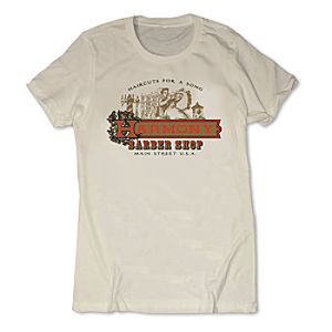 Harmony Barber Shop Tee for Women - Walt Disney World - Limited Release