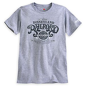 Disneyland Railroad Tee for Adults - 60th Anniversary - Limited Release