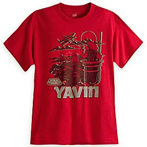 Star Tours Yavin Tee for Adults - Limited Release
