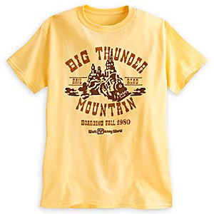 Big Thunder Mountain Railroad Tee for Adults - Walt Disney World - Limited Release