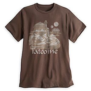 Tatooine Tee for Adults - Star Tours - Limited Release