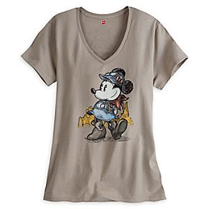 Minnie Mouse Big Thunder Mountain Railroad Tee for Women - Limited Release