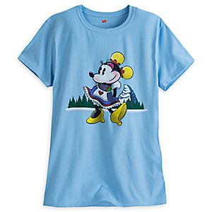 Minnie Mouse Matterhorn Bobsleds Tee for Women - Limited Release