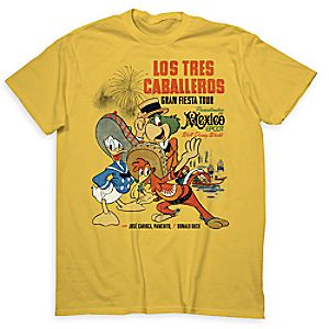 The Three Caballeros Tee for Adults - Limited Release