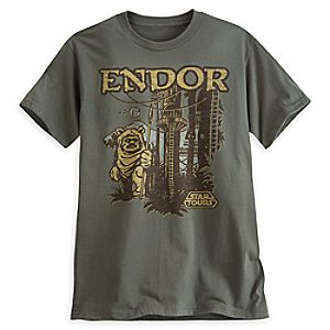Star Tours Endor Tee for Adults - Limited Release