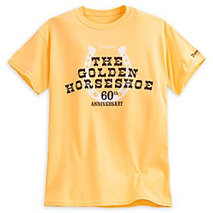 The Golden Horseshoe Tee for Adults - 60th Anniversary - Disneyland - Limited Release
