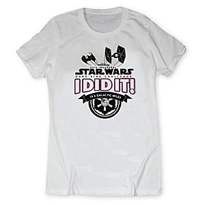 runDisney Star Wars Dark Side Challenge 2016 Tee for Women - Limited Release