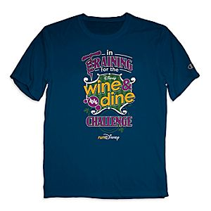 runDisney Performance Tee for Adults by Champion® - Disney Wine and Dine Challenge 2016