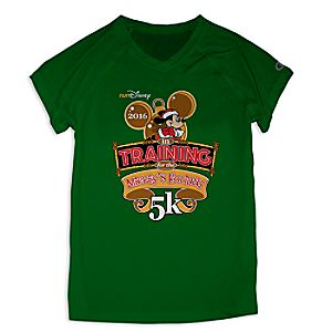 Mickey Mouse runDisney Performance Tee for Women by Champion® - Mickeys Holiday 5K 2016