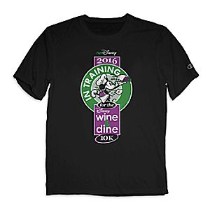 Mickey Mouse runDisney Performance Tee for Adults by Champion® - Disney Wine and Dine 10K 2016