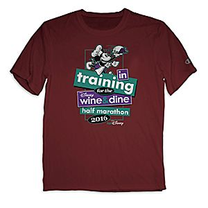 Mickey Mouse runDisney Performance Tee for Adults by Champion® - Disney Wine and Dine Half Marathon 2016