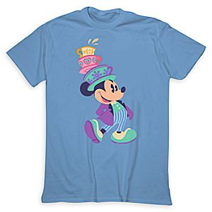 Mickey Mouse Mad Tea Party Tee for Adults - Limited Release